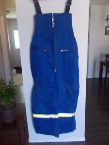 Flame Resistant Lined Overalls