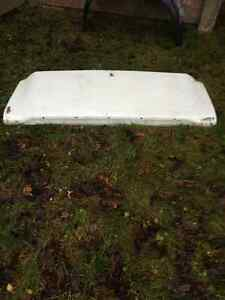 1967 1968 Mustang Fastback trunklid original Ford