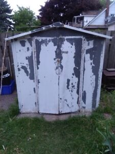 galvanized steel shed