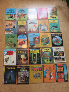 Collection bande dessiné Tintin