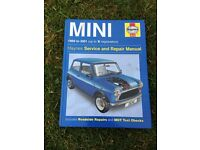 Haynes manual for classic mini