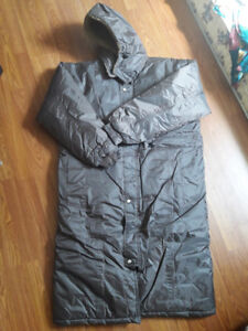 Long Winter Jacket with Hood and Ice Proof Pant