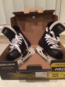 Bauer Supreme Youth Skates Size 10 - $35 (Burnaby)