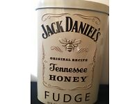 Limited addition honey jack Daniels fudge money tin
