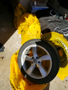 Audi rims and winter tires used for only 2 winters