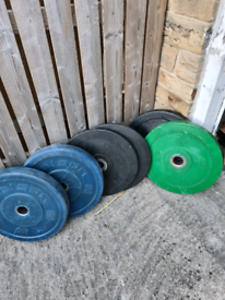 Olympic Bumper weights