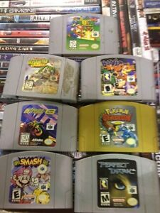 Video games wanted for cash today . SNES NES N64 DS GBA