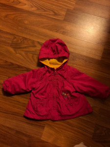 Girls Size 0-3 Spring Coat
