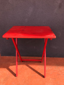 Bright Wooden TV Tables