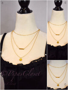 Gold necklace fashion jewelry women free shipping