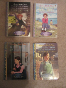Collection of Our Canadian Girl Chapter Books