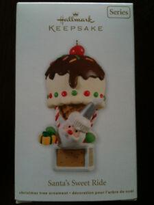 Hallmark Santa's Sweet Ride Ornament