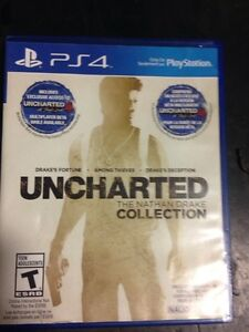 Ps4 Uncharted collection 1,2&3