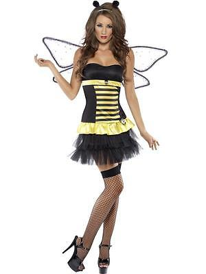 Fever Reversible Bumble Bee / Lady Bug Costume Woman Sexy Fancy Dress Bumble Bee Lady