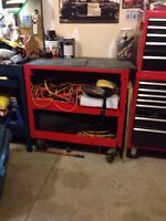 Large Tool Cart, Storage and Work Surface 3x3x2'
