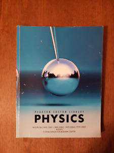 PEARSON PHYSICS Textbook - Custom Edition for Mohawk College
