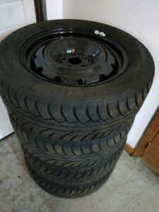 Winter tires on rims 16 inch