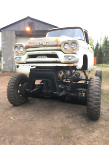 1959 gmc 2.5 ton mud truck project