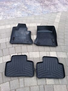 4 RUBBER SIZED FLOOR MATS FOR MERCEDES GLK