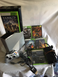 Xbox 360 Halo Reach Limited Edition 250Gb with over 40 Games
