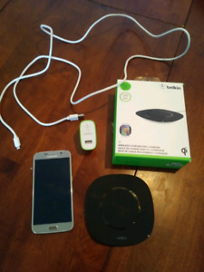Galaxy S6 an wireless charger