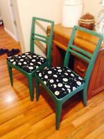 Couple of Vintage Chairs. These are quite nice and sturdy