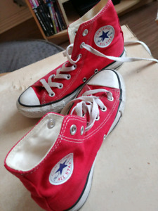 Converse all star rouges  3.5