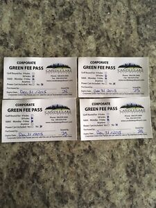 Candle lake golf passes (2 left)