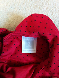 Christmas / Holiday dress red 3 months Carter's Kitchener / Waterloo Kitchener Area image 2