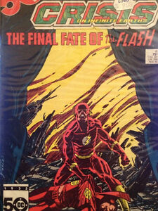 CRISIS ON INFINITE EARTHS 8 Death Of FLASH