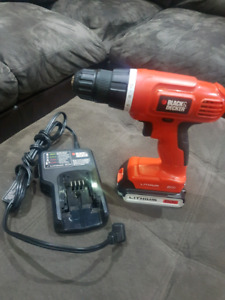 Black and decker 20v drill/driver kit