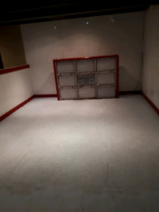 Synthetic ice and top shot hockey