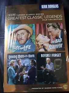 Kirk Douglas 4 feature on DVD