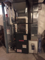 Furnace and Air conditioning repairs or replacement .
