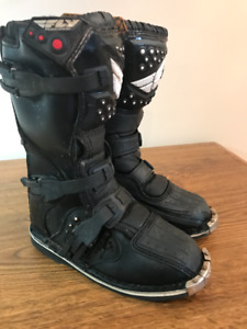 Fly Racing Motocross Boots (Youth 5)