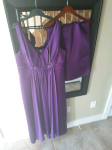 Bridesmaid dress size 18