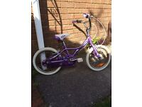 "Girls Giant 16"" Bicycle"