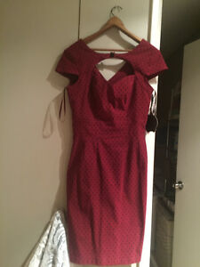 Ladies Hell Bunny Dress- NEW. Size Large, but fit 8-12 Best