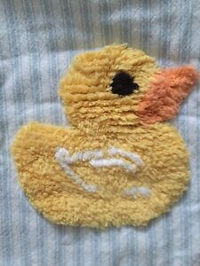 Bath mat and shower curtain – little duckies. London Ontario image 2