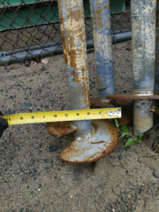 Helical piles used $80 each or all 8 for $500