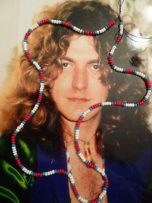 Robert Plant / Led Zeppelin Love Bead Necklace Authentic Replica!