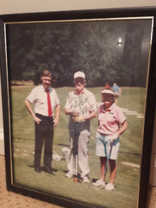 Old Photo of Bob Hope(signed and framed)