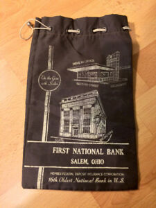 First National Bank Bag