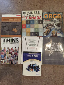 NBCC Business Administration 1st Year Textbooks