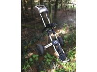 Powercaddy Twinline 3 golf trolley