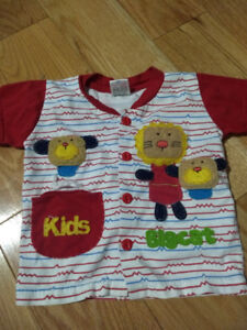 Baby boy gently used clothes..6-12,12-18 months