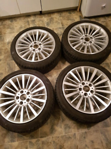 Roues hiver 5x120 bmw