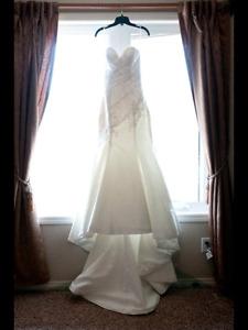 Strappless Wedding Dress