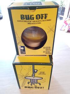 BUG OFF OIL LAMP