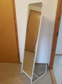 Freestanding full length mirror